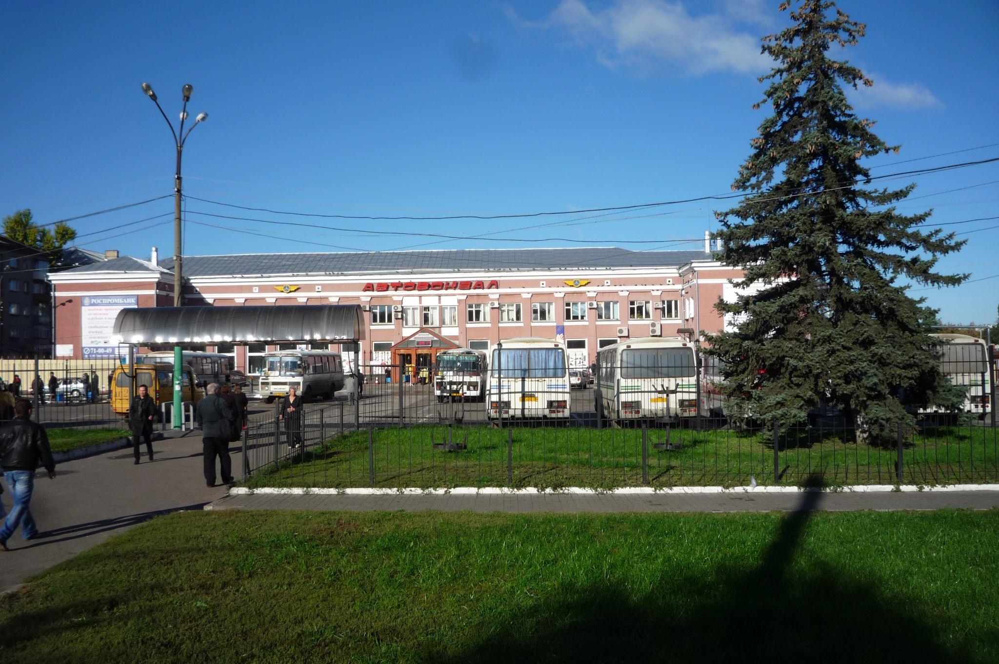 Автовокзал Воронежа